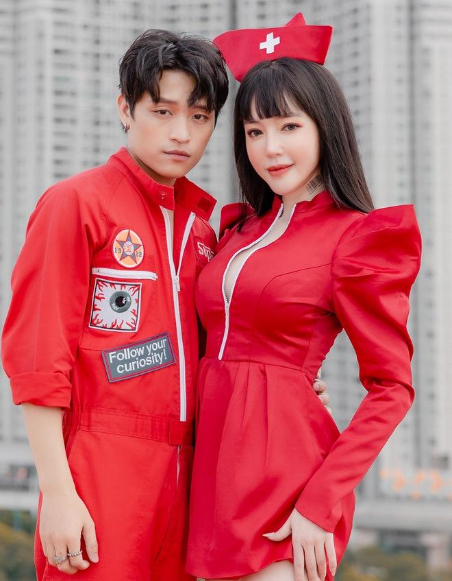 Việt Thắng tình tứ với Elly Trần trong sản phẩm tái xuất - Ảnh 4.