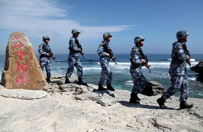 Chuyên gia quân sự vạch ý đồ tập trận của Trung Quốc ở biển Đông - Ảnh 1.