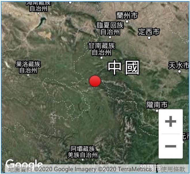 Động đất ở thượng nguồn đập Tam Hiệp - ảnh 1