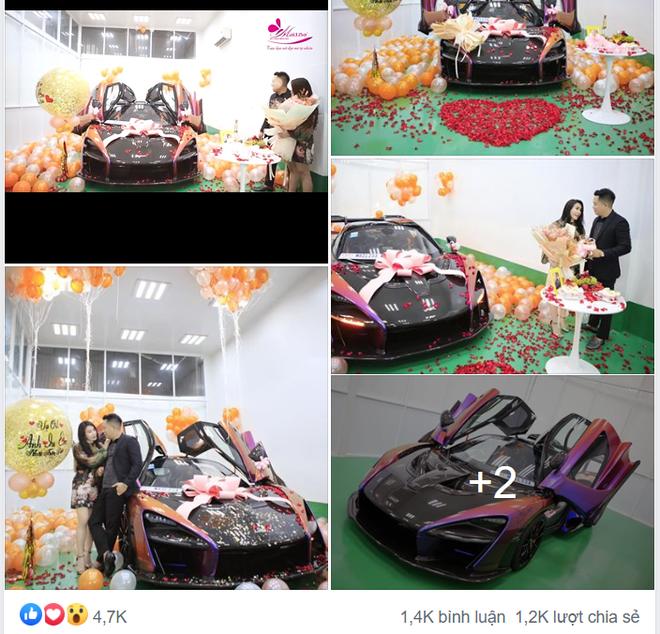Đẳng cấp bạo chi của đại gia Sài Thành vừa tặng vợ món quà 50 tỷ qua dàn xe cực khủng - Ảnh 1.