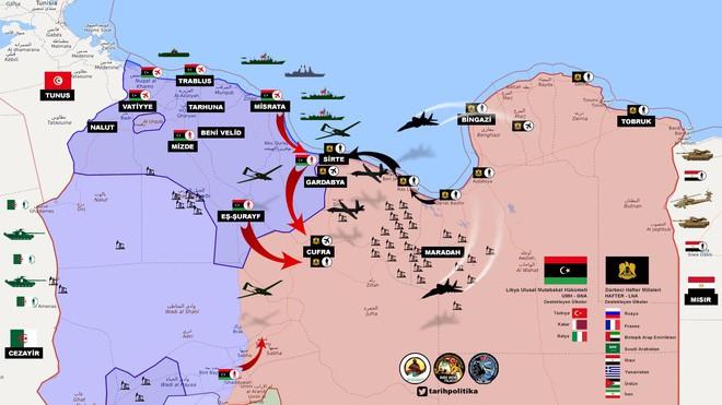 Chiến sự Libya: Kế hoạch xuyên thủng lằn ranh đỏ dần hé lộ, Ai Cập liệu có sập bẫy? - Ảnh 6.