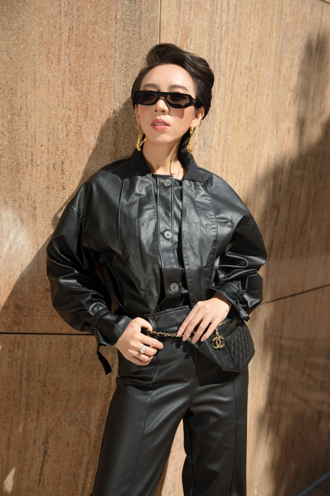 Hoa hậu hài Thu Trang mặc gợi cảm đi dạo phố - Ảnh 12.