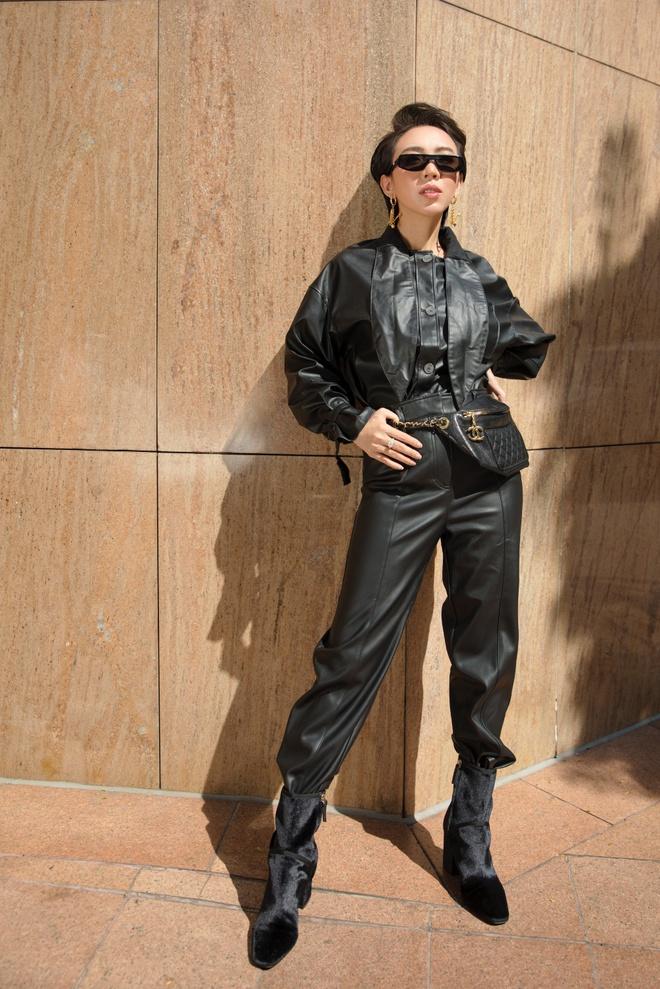Hoa hậu hài Thu Trang mặc gợi cảm đi dạo phố - Ảnh 11.