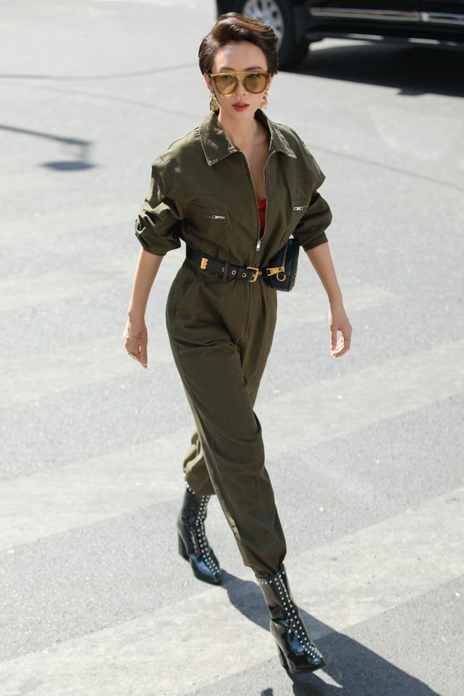 Hoa hậu hài Thu Trang mặc gợi cảm đi dạo phố - Ảnh 10.