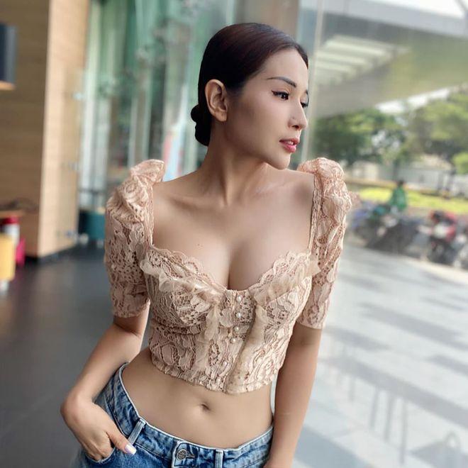 Khả Như khoe hình thể cực nóng bỏng với bikini - Ảnh 7.