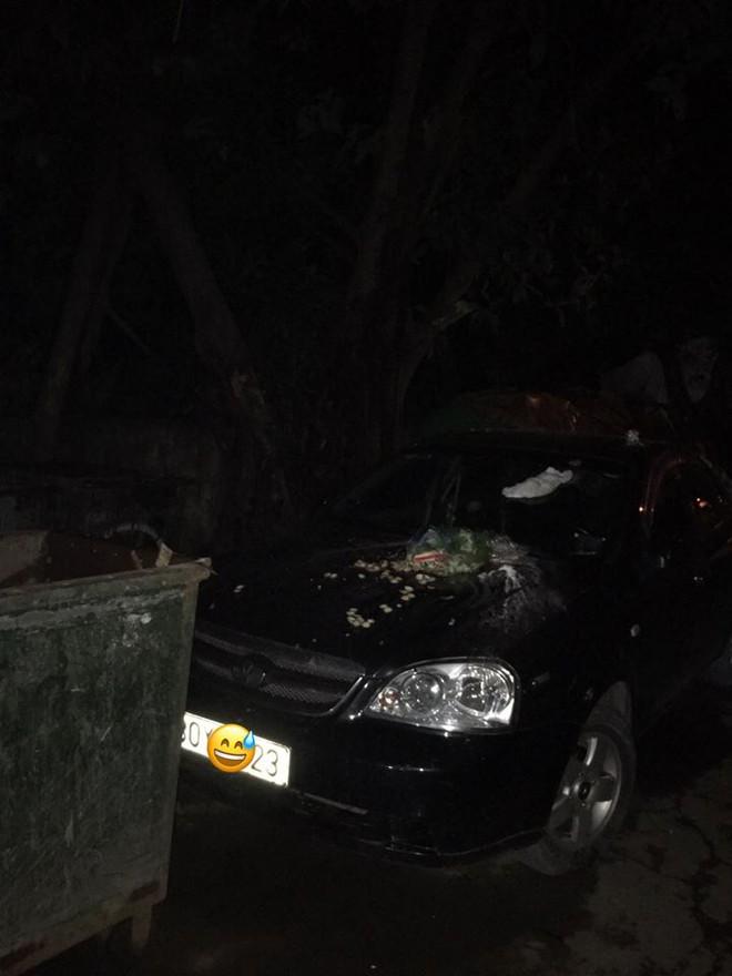 Đỗ xe chắn bãi rác đến khi quay lại, tài xế ô tô hốt hoảng với thứ nhầy nhụa trên nắp ca - pô - Ảnh 1.