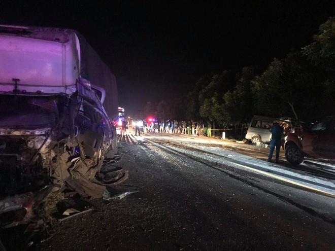 Nguyên nhân vụ tai nạn thảm khốc khiến 8 người chết ở Bình Thuận: Xe khách đi sai phần đường - Ảnh 2.