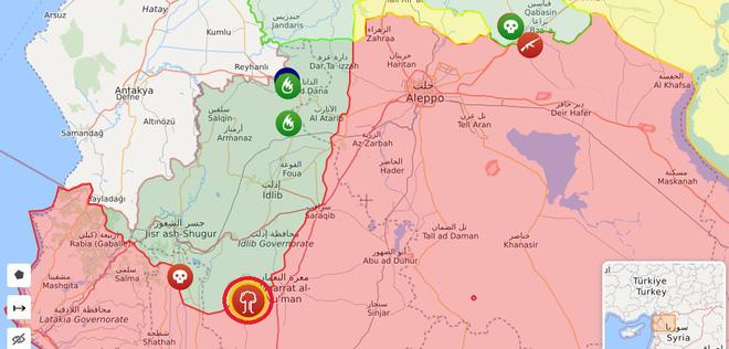Tiêm kích Su-35 Nga khẩn cấp đánh chặn chiến đấu cơ Israel - Mảnh vỡ tên lửa văng tứ tung, phòng không Syria khai hỏa dồn dập - Ảnh 1.