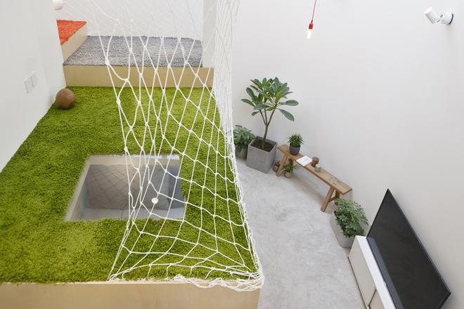 Với thiết kế độc đáo, miếng đất vẹo vọ, chẳng giống ai trở thành một kiệt tác kiến trúc - Ảnh 11.