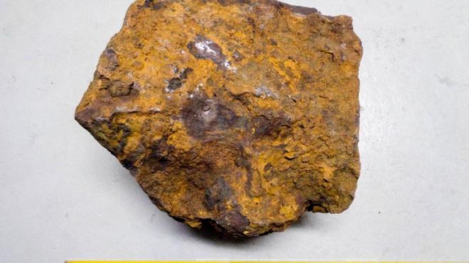 Đào cục sắt trong vườn, 31 năm sau mới biết là báu vật ngoài hành tinh - Ảnh 1.