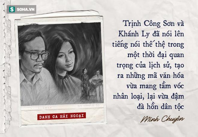 Khánh Ly và nhạc Trịnh: Những nhận định phiến diện và sự thật về tầm vóc lịch sử, thời đại - Ảnh 1.