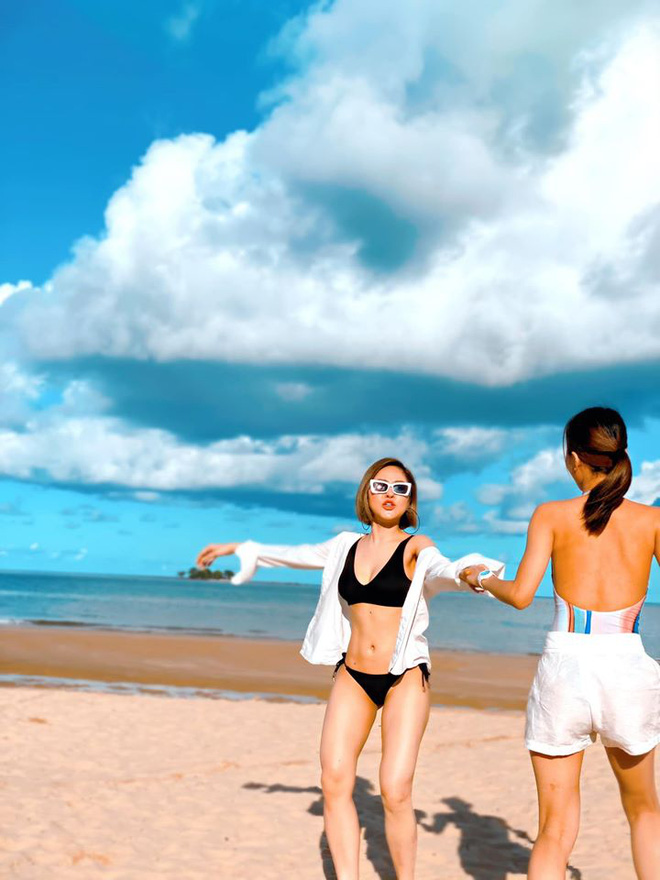 Hot girl Trâm Anh khoe vẻ đẹp nóng bỏng ở tuổi 24 - Ảnh 2.