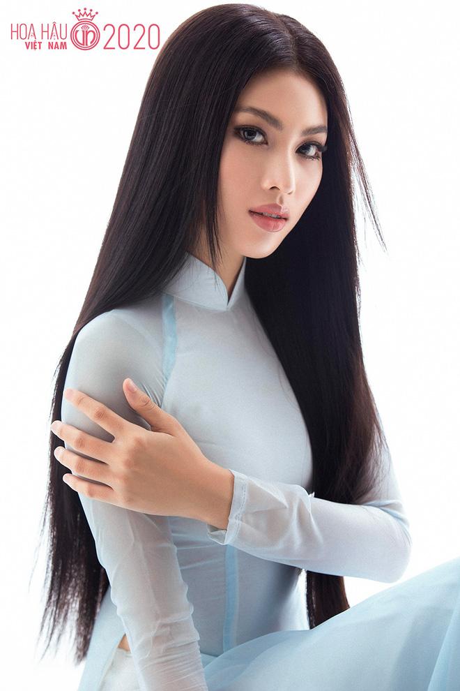 Vẻ gợi cảm của người đẹp cao 1m77 dự thi Hoa hậu Việt Nam - Ảnh 1.
