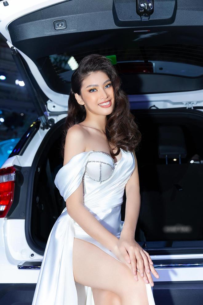 Vẻ gợi cảm của người đẹp cao 1m77 dự thi Hoa hậu Việt Nam - Ảnh 5.