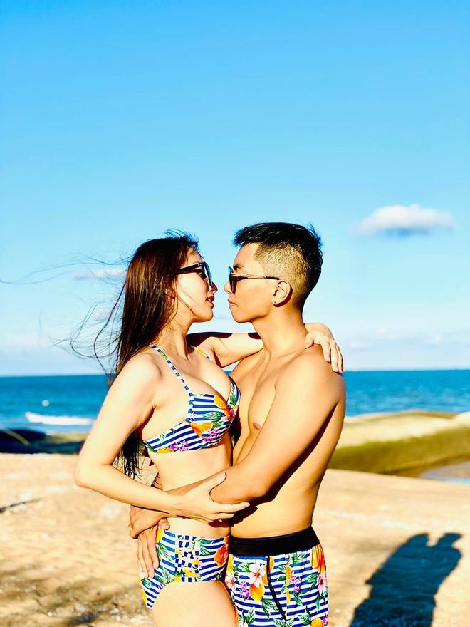 Khoe ảnh gợi cảm bên chồng kém 12 tuổi, Khánh Thy tuyên bố gây chú ý - Ảnh 3.