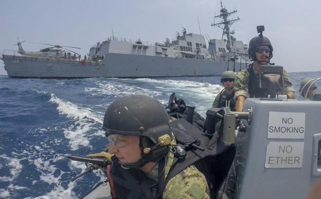 'Không ai ngăn cản được Mỹ ở biển Đông'