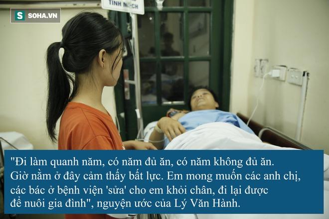 Hoàn cảnh khốn khổ, cùng cực của anh Lý Văn Hành ở Cao Bằng - Ảnh 11.
