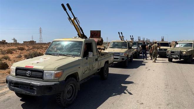 Thổ Nhĩ Kỳ rục rịch muốn tấn công giành lấy trục Sirte và Jufra.