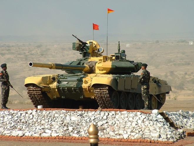 Xe tăng T-90 Bhishma của Ấn Độ. Nguồn: NI