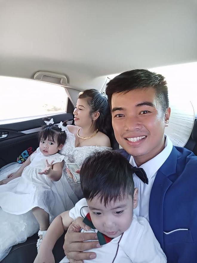 Câu chuyện về đám cưới chạy tang đằng sau đầy xót xa của đôi vợ chồng có với nhau 2 mặt con, cô dâu mang bầu bé thứ 3 mới tổ chức hôn lễ - Ảnh 4.
