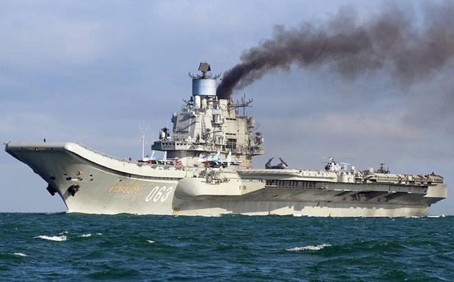 """""""Kẻ"""" khiến tàu sân bay Kuznetsov Nga suýt gặp thảm họa vẫn nằm im dưới biển: Đáng báo động"""