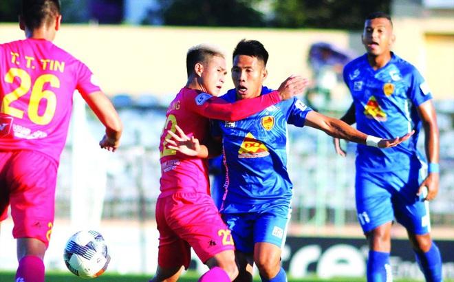 Quảng Nam và Sài Gòn FC khiến LS V-League thêm kịch tính