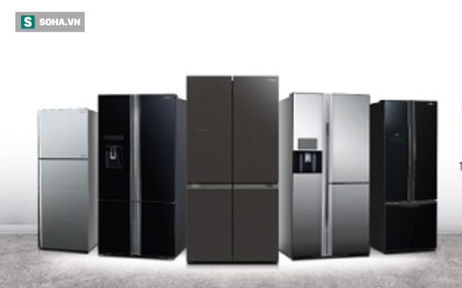 """Không chỉ tủ lạnh bình dân, các tủ lạnh hai cánh """"sang chảnh"""" tiết kiệm điện cũng hạ giá"""