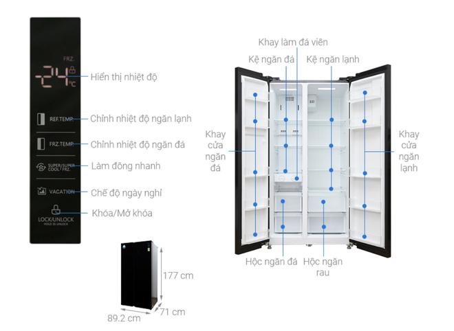 Tủ lạnh hai cánh tiết kiệm điện hạ giá xuống dưới 20 triệu đồng - Ảnh 5.