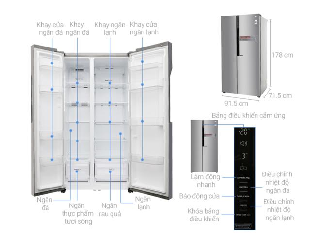 Tủ lạnh hai cánh tiết kiệm điện hạ giá xuống dưới 20 triệu đồng - Ảnh 4.