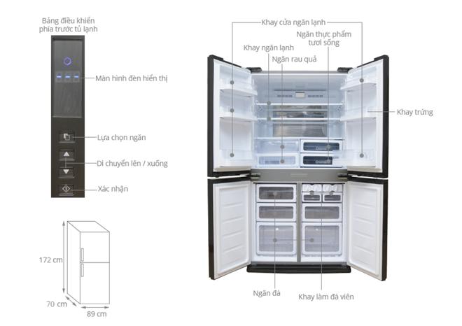 Tủ lạnh hai cánh tiết kiệm điện hạ giá xuống dưới 20 triệu đồng - Ảnh 3.