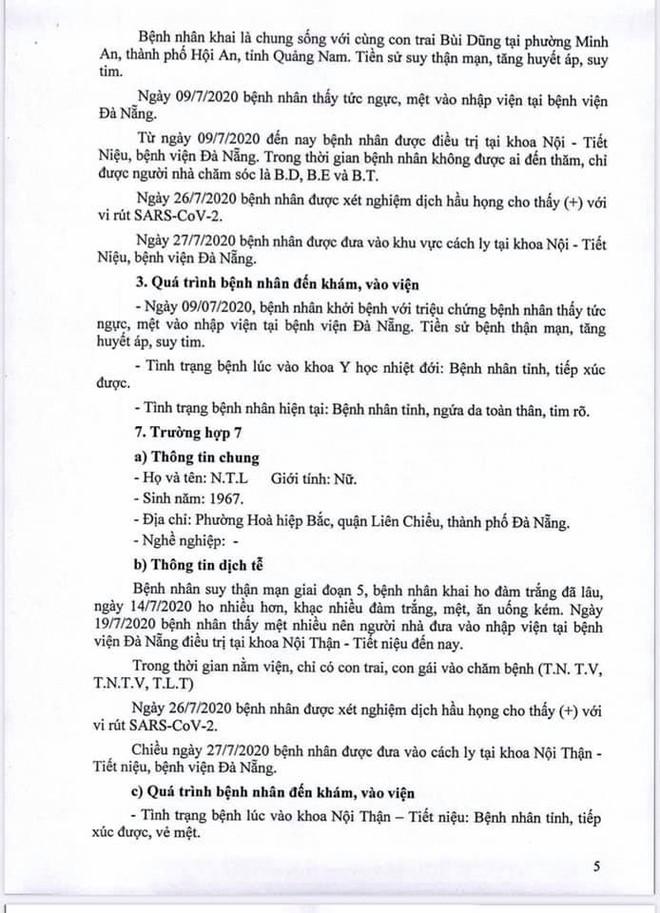 Lịch trình 11 bệnh nhân COVID-19 tại Đà Nẵng vừa công bố - Ảnh 5.