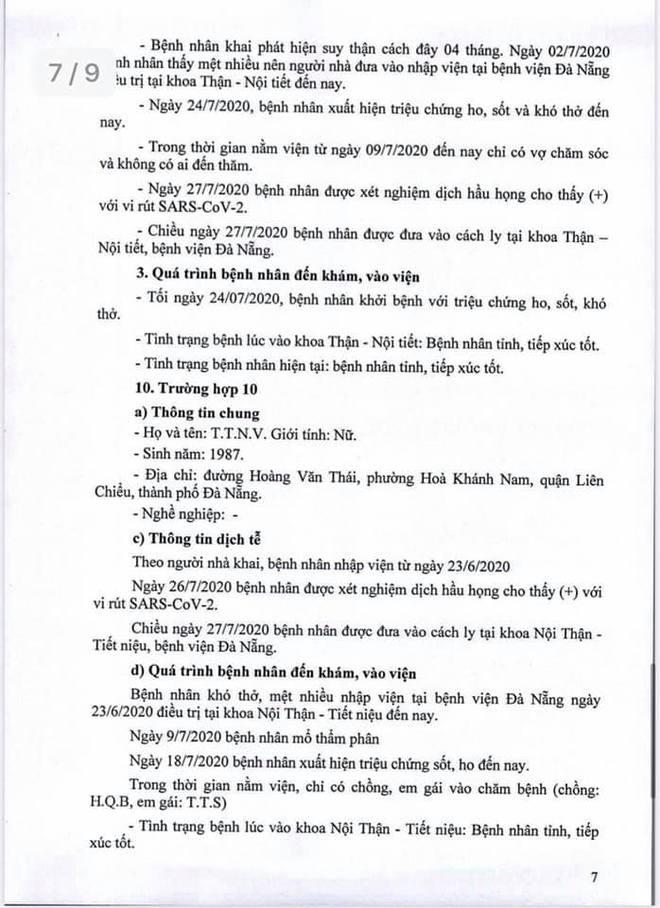 Lịch trình 11 bệnh nhân COVID-19 tại Đà Nẵng vừa công bố - Ảnh 7.