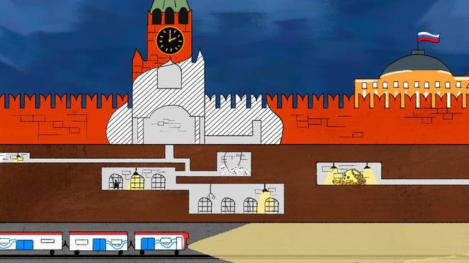 Khám phá bí ẩn lòng đất bên dưới Điện Kremlin - Ảnh 1.
