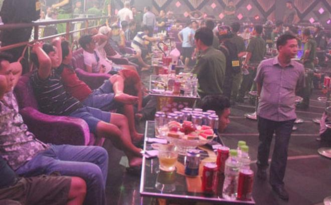 """99 """"dân chơi"""" dương tính ma túy trong quán bar Romance ở Đồng Nai, công an tạm giam chủ quán cùng 3 quản lý"""