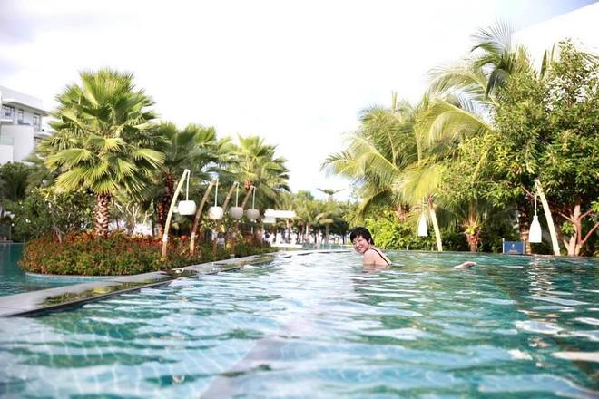 Hình ảnh bikini hiếm hoi của MC Thảo Vân - Ảnh 7.