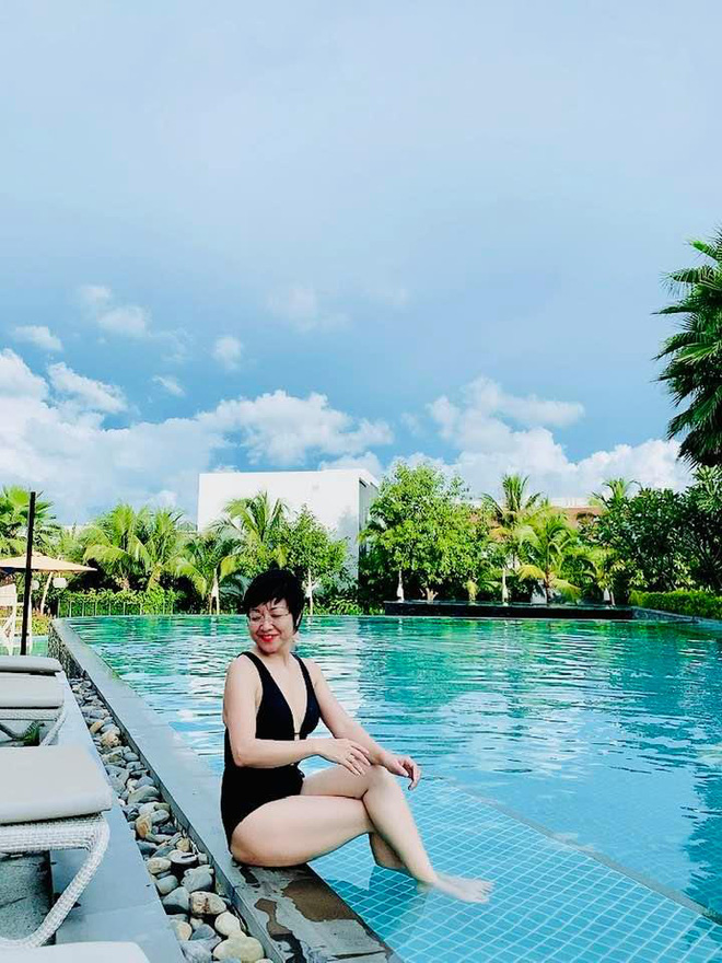 Hình ảnh bikini hiếm hoi của MC Thảo Vân - Ảnh 2.