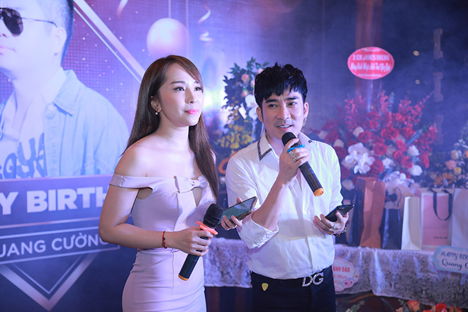 Quang Hà chi hơn 100 triệu đồng tổ chức sinh nhật cho ông bầu Quang Cường - Ảnh 4.