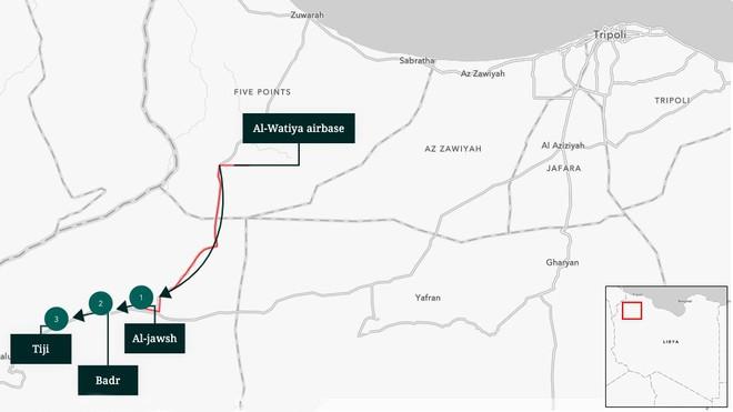 Vượt 7.000 km, tiêm kích Ấn Độ áp sát biên giới TQ: Tái diễn kịch bản tấn công ở Libya? - Ảnh 2.