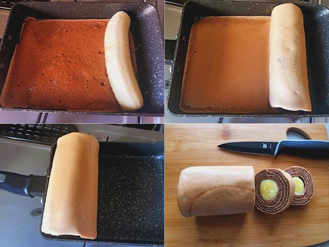 Không cần lò nướng, làm ngay bánh cuộn ngon hết nấc chỉ trong 3 nốt nhạc - Ảnh 3.