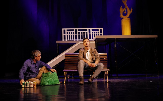 Nhà hát Tuổi trẻ ra mắt vở kịch hot Bộ cảnh phục - Ảnh 1.