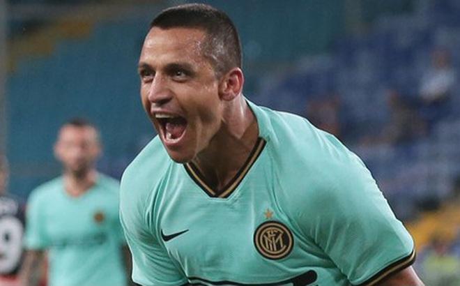 Alexis Sanchez liên tục tỏa sáng, Inter Milan báo tin mừng cho MU