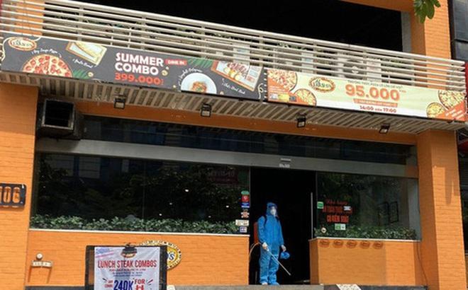 Lịch trình di chuyển dày đặc của đầu bếp tiệm Pizza ở Hà Nội mắc COVID-19