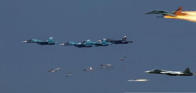 Su-57 bất ngờ nằm ổ ở Syria: Nhiệm vụ bí mật chưa từng có - Xứng tầm át chủ bài? - Ảnh 5.