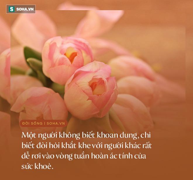 1 biểu hiện đặc trưng của người càng sống càng hưởng phúc dày, cuộc đời an yên, viên mãn - Ảnh 6.