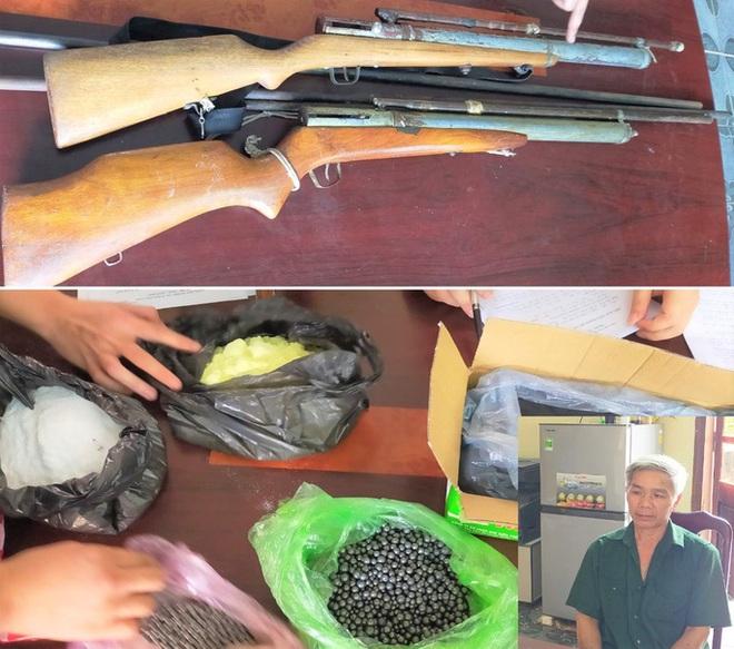 Phá điểm sản xuất súng tự chế giá 500.000 đồng một khẩu - Ảnh 1.