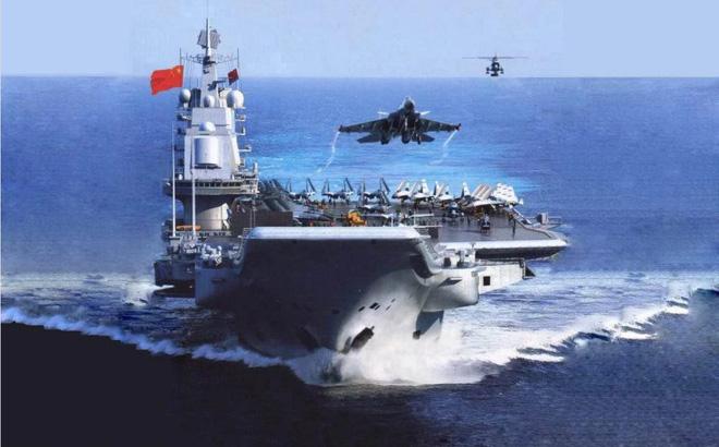 """Tàu sân bay đang đóng dở bỗng """"mất tích bí ẩn"""": Bức ảnh rò rỉ làm lộ bí mật của Trung Quốc"""