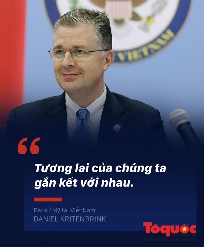 Đại sứ Mỹ tại Việt Nam: Chúng ta đã hoàn toàn gọi nhau là bạn bè một cách chân thành - Ảnh 2.