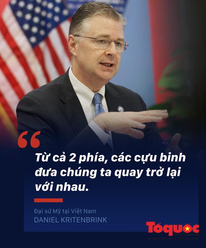 Đại sứ Mỹ tại Việt Nam: Chúng ta đã hoàn toàn gọi nhau là bạn bè một cách chân thành - Ảnh 4.