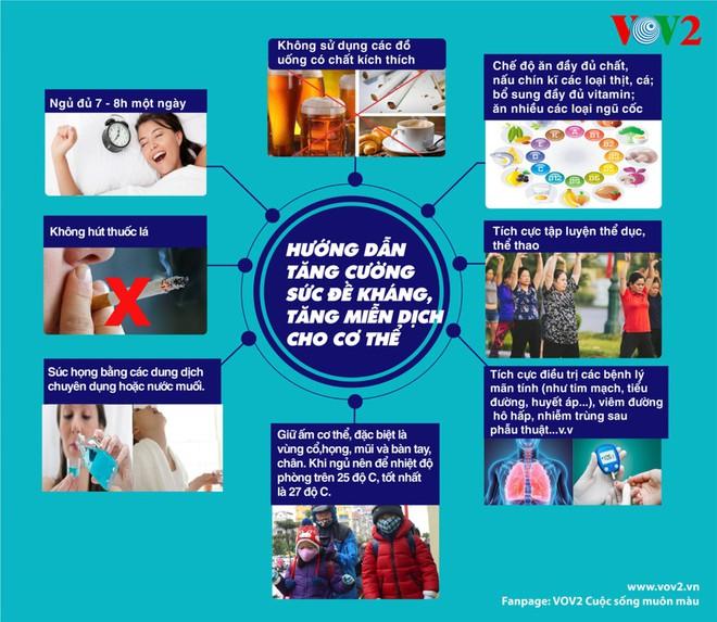 8 bí quyết tăng cường sức đề kháng, tăng miễn dịch cho cơ thể - Ảnh 1.