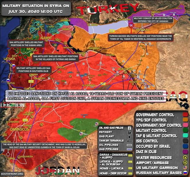 Nga nã tên lửa vào khu vực NATO vừa kết thúc tập trận - Thổ trở mặt, tiêm kích Nga lập tức cất cánh - Ảnh 1.